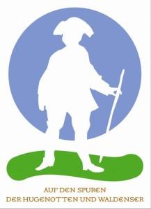 Logo Hugenotten und Waldenserpfad
