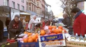 Markt in der Mainzer Neustadt