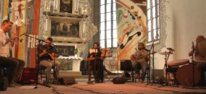Lale Koçgün beim Konzert in der Kirche