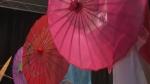 chinesische Schirme