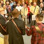 Auftritt Bluegrass-Band